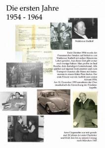 Jubiläum Plakat 54-64