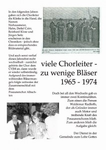 Jubiläum Plakat 65-74