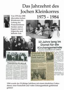 Jubiläum Plakat 75-84
