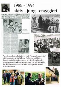 Jubiläum Plakat 85-94