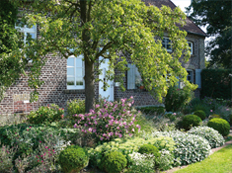 Der Garten bei Christensen